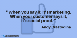 Social proof - Andy Crestodina
