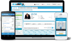 The TotalCoaching app - available on your clients smartphone