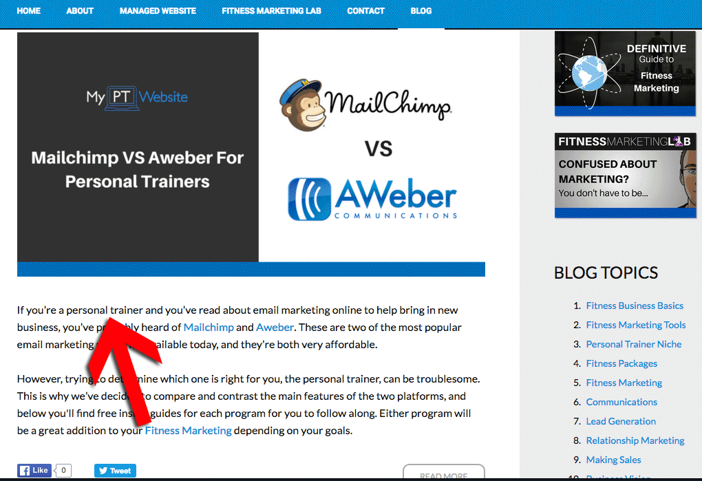 PT Website