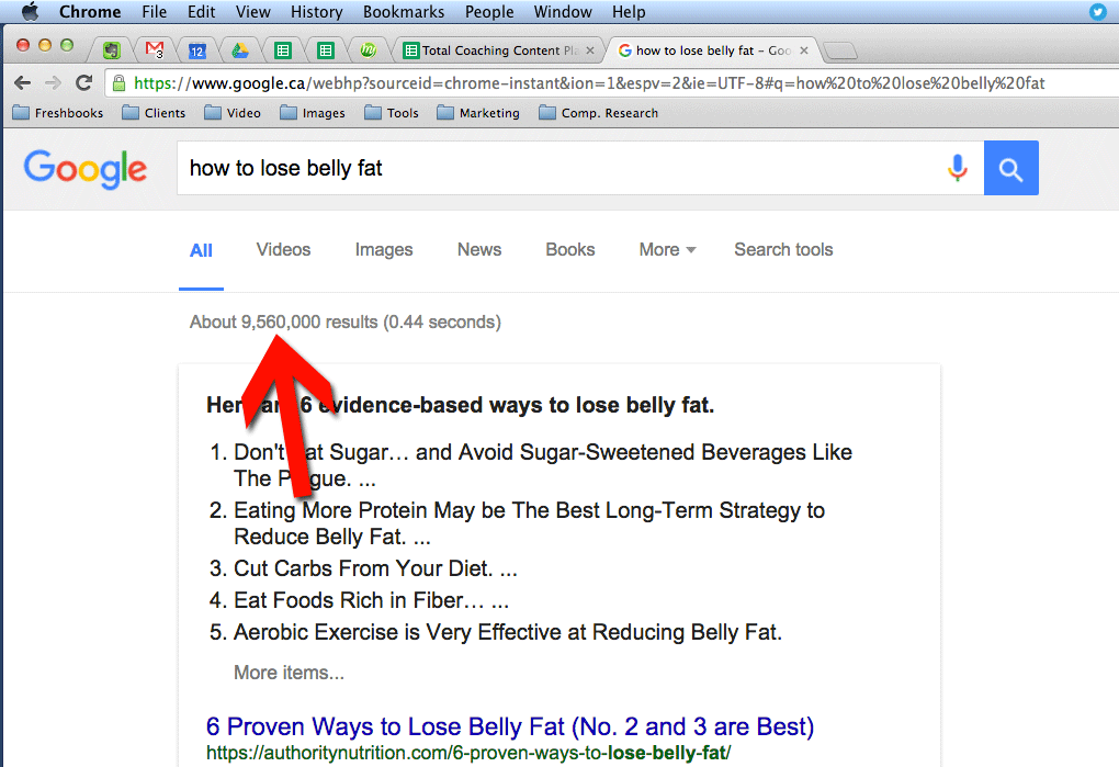 Belly Fat Search