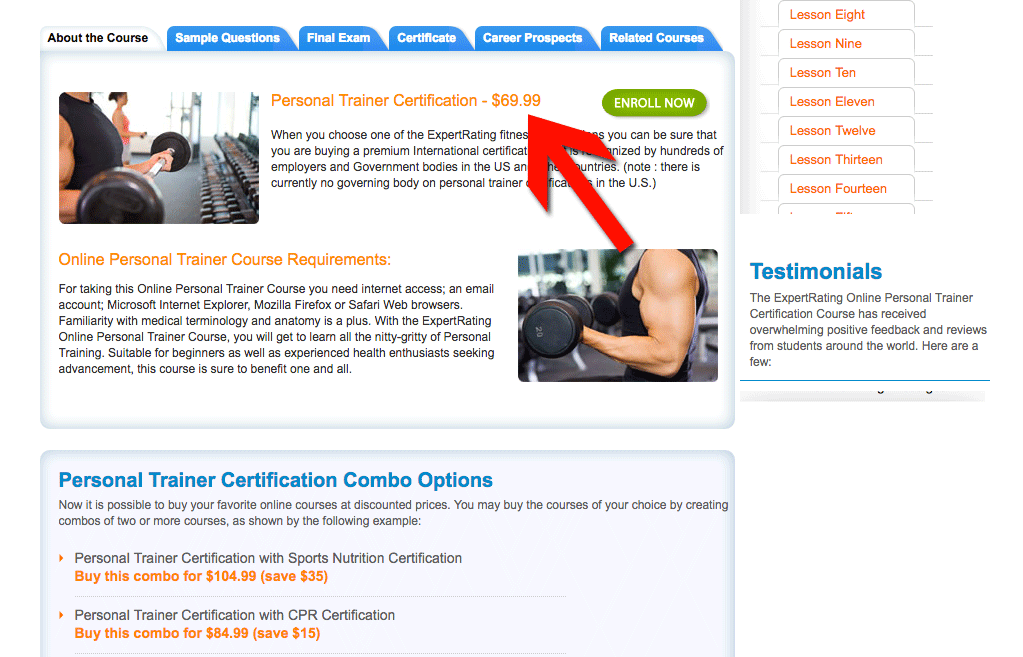 Personal Training Certification Canada