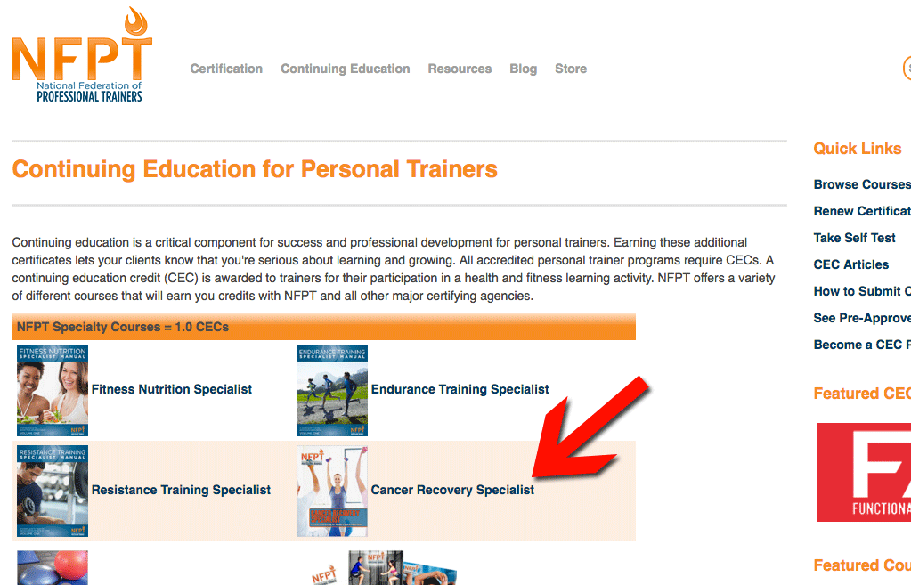 Personal Training Certification: Canada