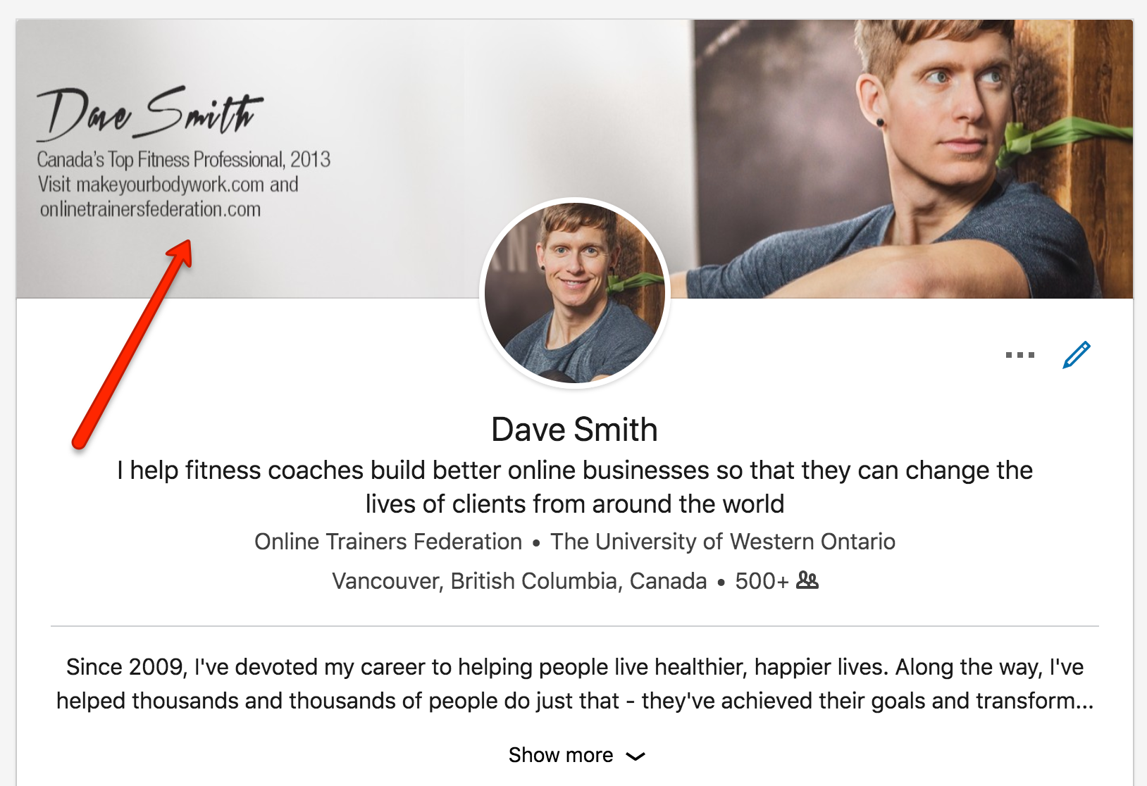 Dave Smith Linkedin