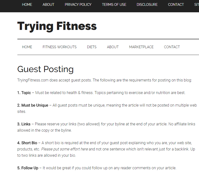 Guest Posting: 7 Steps to Get Writing Gigs on Top Fitness