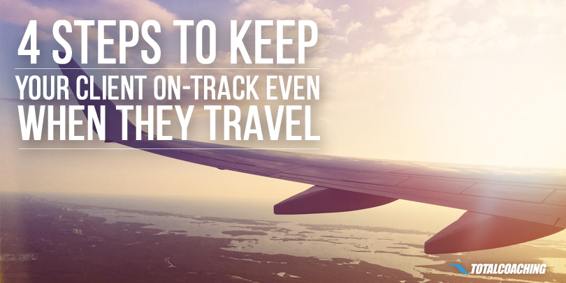 Keep your clients on track when they travel