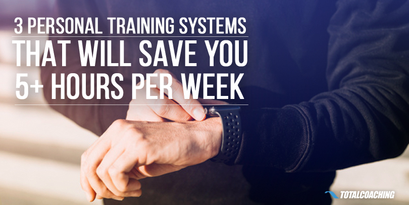 Save Time Online Personal Training Systems