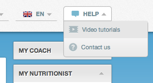 TotalCoaching screenshot; Video tutorials